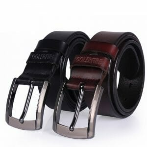 Genuine Leather Business Belt