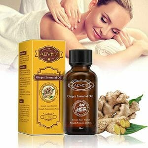 Ginger Essential Oils, Womdee Pure Ginger Essential Oil Pure and Natural with Therapeutic Grade for Massage, Hair Growth, Aromatherapy, Relaxation, Skin Therapy – 30ml/1oz