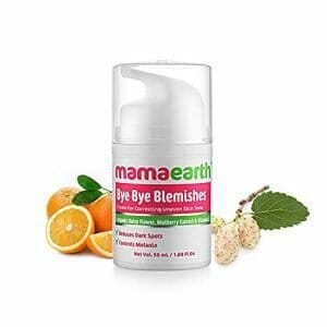 Mamaearth Bye Bye Blemishes For Pigmentation, Sun Damage & Spots Correction – 50 Ml