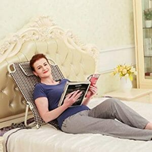 ObboMed-Sm-5200 Adjustable Supportive Free Standing Headrest And Backrest, Position Alignment For Reading, Breakfasting On Bed Or Outdoor.