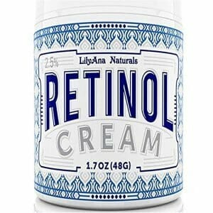 Retinol Cream Moisturiser for Face and Eyes, Use Day and Night – for Anti Ageing, Acne, Wrinkles – made with Natural and Organic Ingredients – 30ml